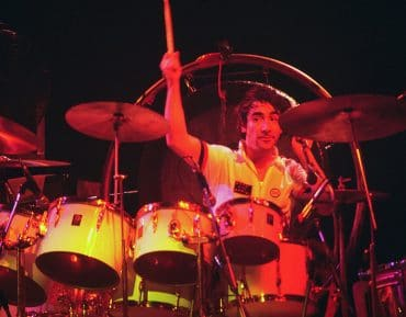 Keith Moon, batteur de the Who
