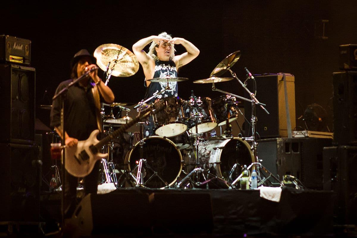 Mikkey Dee, batteur de Motörhead et Scorpions