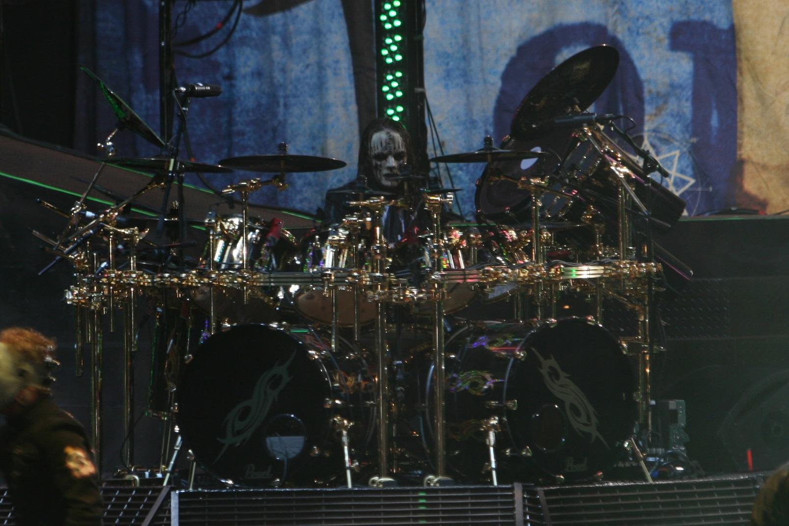 Joey jordison batteur de Slipknot
