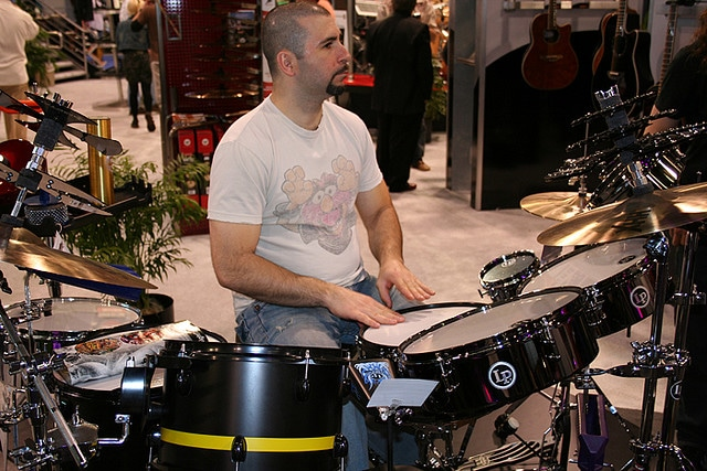 John Dolmayan batteur de System of A Down