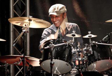 Le batteur Manu Katché
