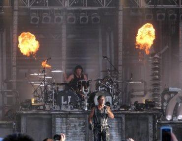 Christoph Schneider batteur de Rammstein