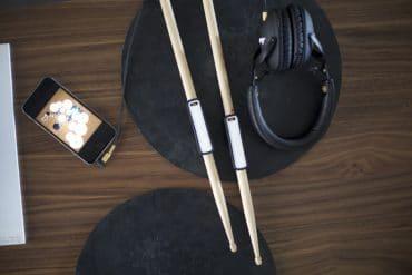 Baguettes connectées Freedrum et Drumistic