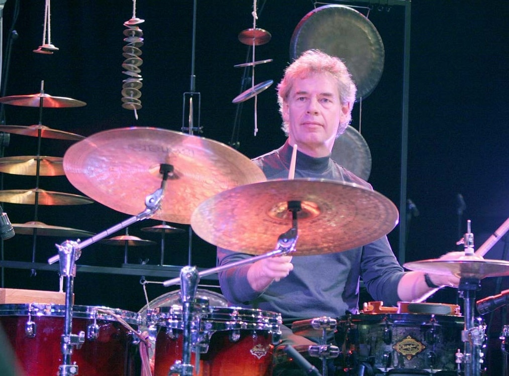 Bill Bruford batteur de Yes