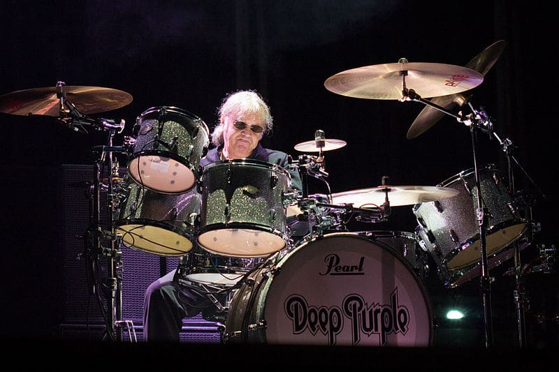 Ian Paice batteur de Deep Purple