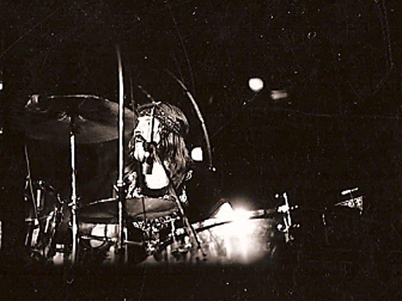 John Bonham batteur de Led Zeppelin