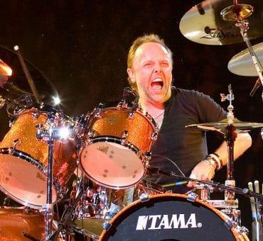 Lars Ulrich batteur de Metallica