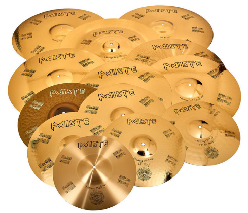 Set de 12 cymbales Paiste Nicko's Treasure ltd. Edition